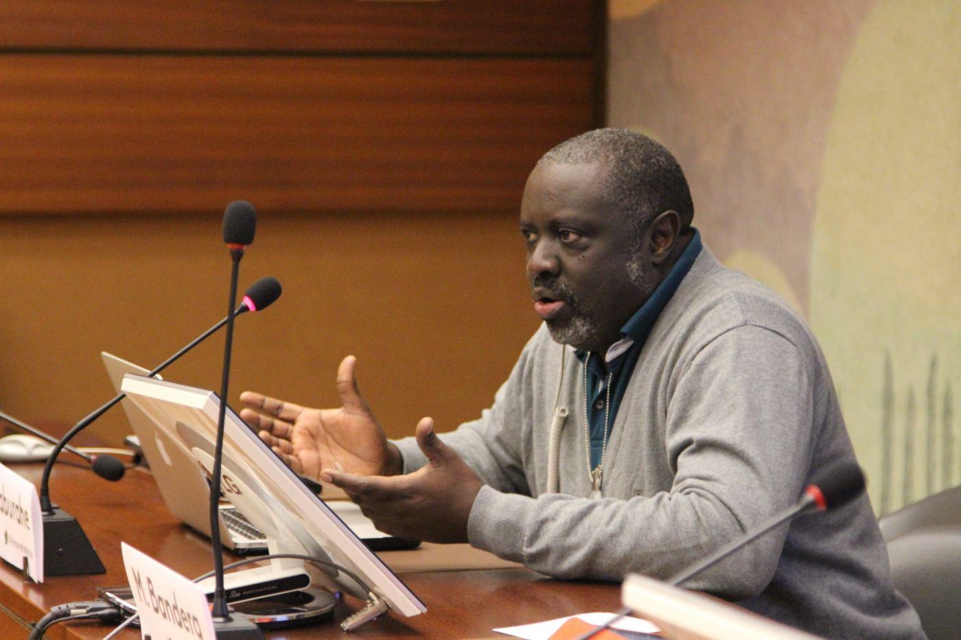 Le directeur d'Iwacu, Antoine Kaburahe