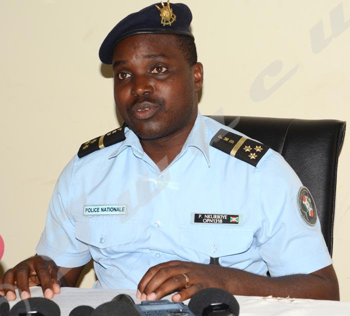 Pierre Nkurikiye : «La police ne tire jamais sur des gens qu'elle veut arrêter.»