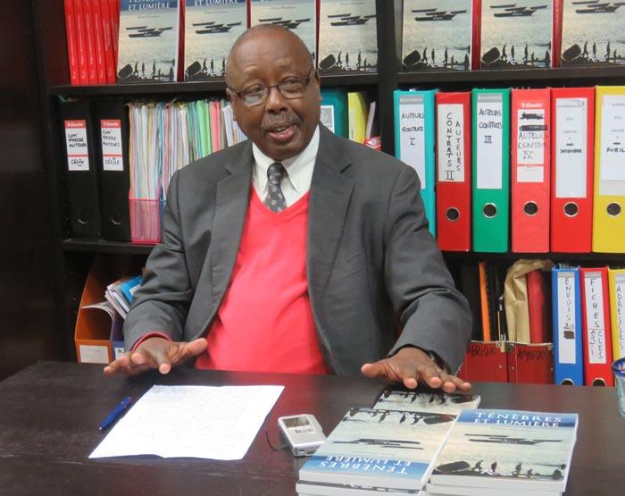 Prime Nyamoya : « Que l'âme de notre cher prof repose en paix pour l'éternité. »