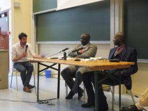 Damien Roulette, Antoine Kaburahe et Pierre Claver Mbonimpa