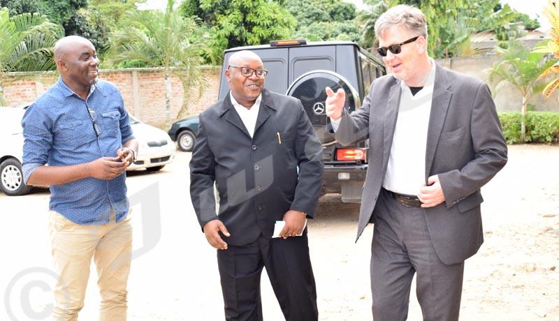 L'Ambassadeur Thomas Strieder salue le travail d'Iwacu