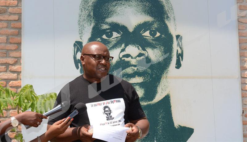 Iwacu rend hommage à Jean Bigirimana