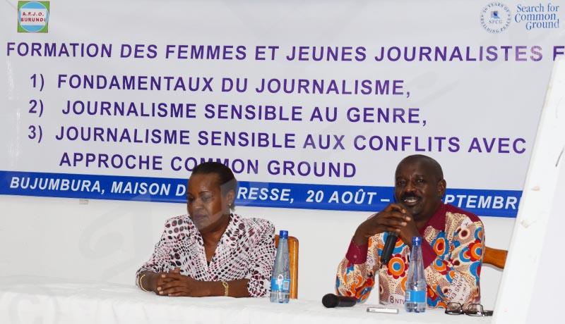 Des journalistes au service de la promotion d'un leadership féminin