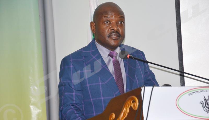 Le président Nkurunziza promet 3 milliards BIF pour soutenir les jeunes