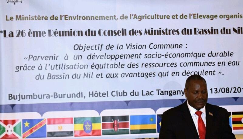 Bassin du Nil : Une grand-messe attendue à  Bujumbura