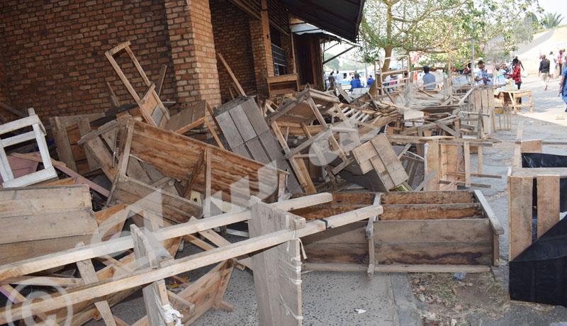 Centre-ville : Démantèlement des stands  «hors normes» à la galerie Hakizimana