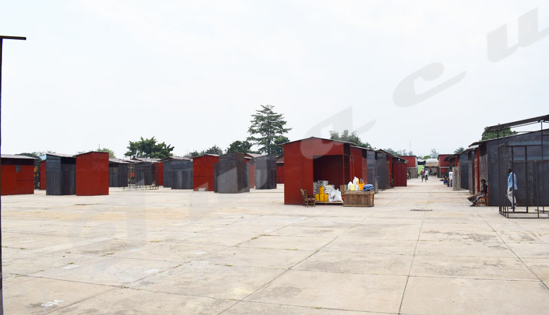 Marché réhabilité de  Ngagara, les commerçants pessimistes sur la clientèle