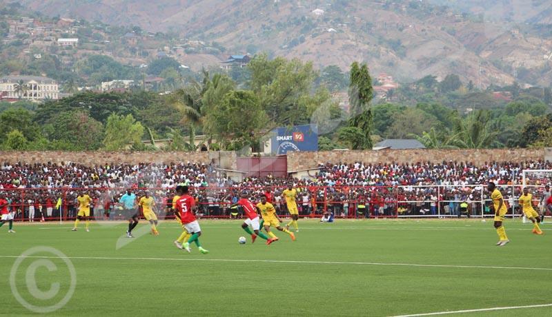 Mardi, 24 octobre 2018- Match nul (1-1) entre le Burundi (en rouge) et le Mali,à Bujumbura, lors de la 4ème journée des matchs comptant pour les éliminatoires de la CAN 2019 ©Onesphore Nibigira/Iwacu