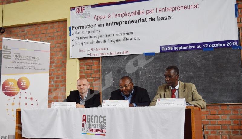 L'AUF et l'Ambassade de France au Burundi engagées pour l'employabilité des diplômés