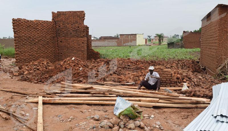 Intempéries : Plus d'une dizaine de sans-abris à Ruziba