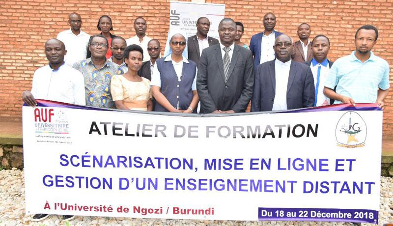 Université de Ngozi, bientôt dotée d'un campus virtuel