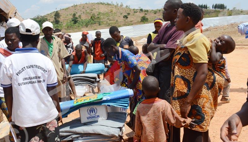 Kayogoro : Des rapatriés dans le désarroi