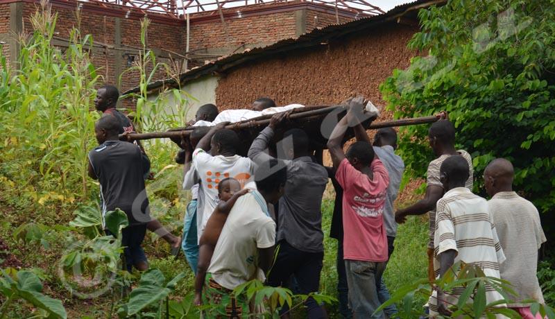 Pluies torrentielles : Toute une famille décimée à Kanyosha