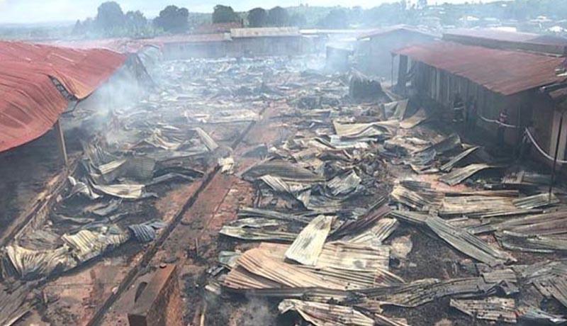 Matana: Un incendie du marché sème la désolation
