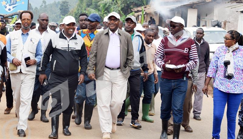 Commune Matongo FIDA: La promotion du maïs hybride : un modèle à suivre