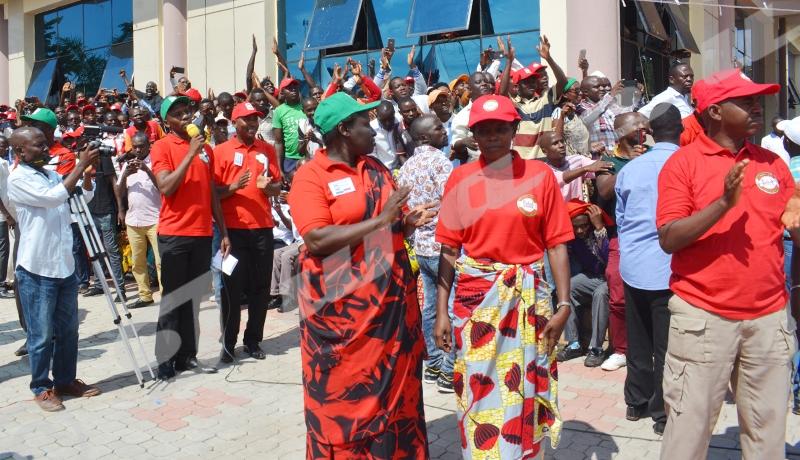 Environ « 130 militants » du parti CNL arrêtés dans un mois