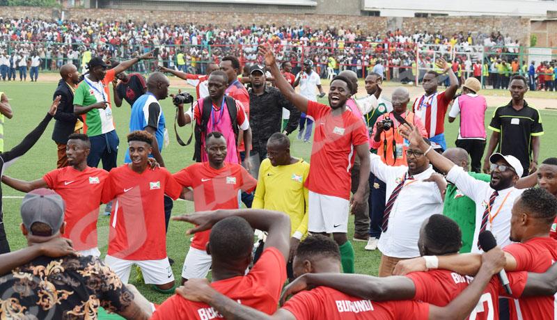 Le Burundi qualifié pour la CAN  2019