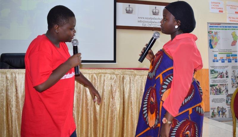 Les femmes leaders appelées à aider  les autres pour leur regroupement dans des associations