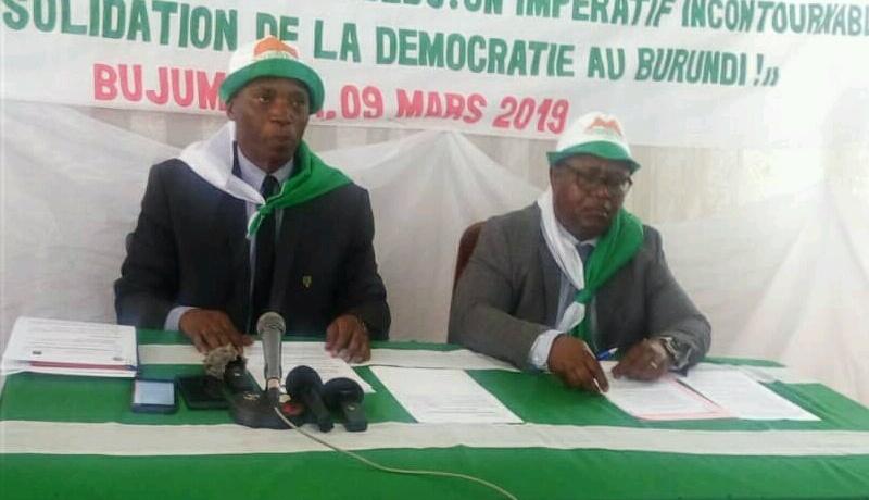 Sahwanya Frodebu: «Des militants ont décidé de rentrer au bercail»