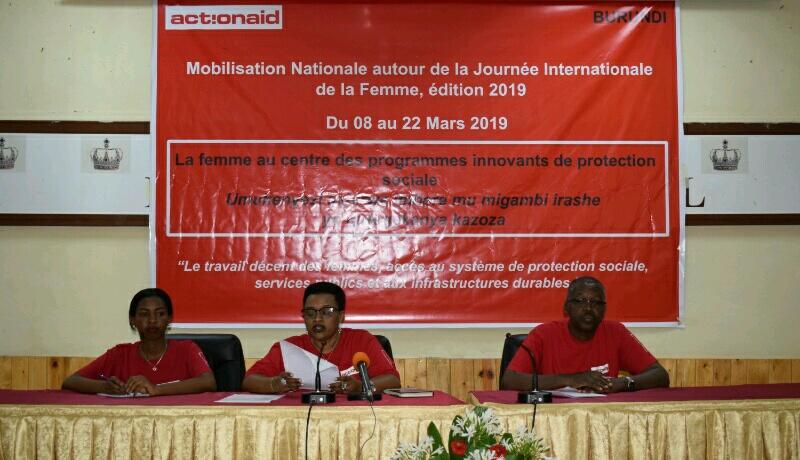 Action Aid lance une campagne pour la valorisation du travail des femmes