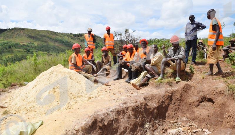 Cassitérite de Rutanganika : Les larmes de creuseurs au chômage