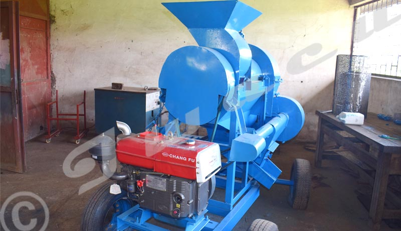 Une machine batteuse de haricots, une nouveauté dans le secteur agricole burundais