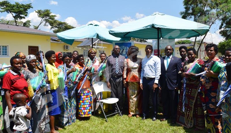 Des femmes bénéficiaires des projets du PNUD célèbrent la journée internationale de la femme