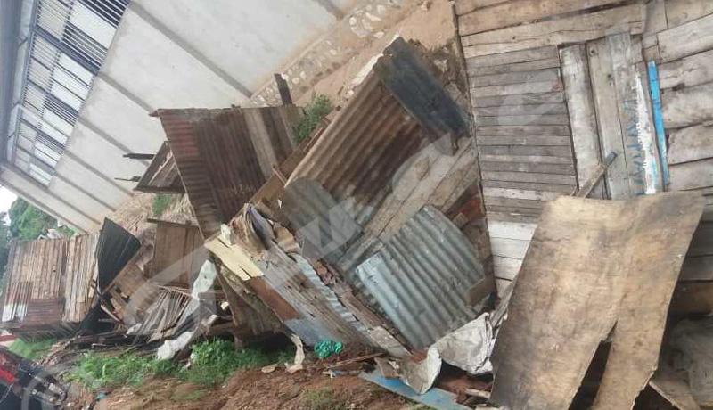 Bwiza : une quinzaine d'échoppes démantelées par la police
