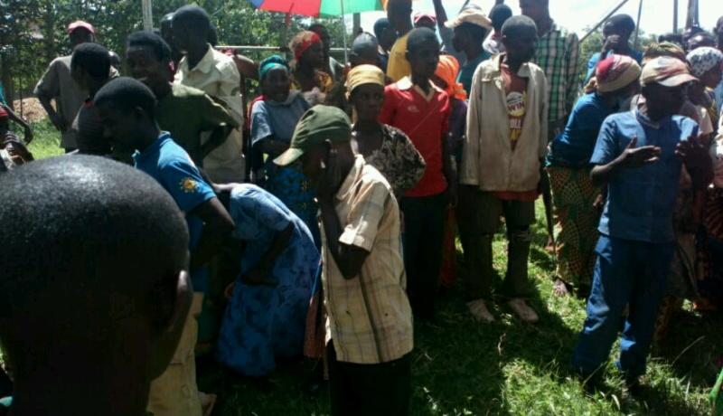 Cibitoke: Nouveau sit-in des Batwa après l'assassinat de l'un d'eux