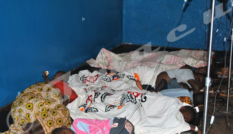 Tout le Burundiaux prises de la malaria?