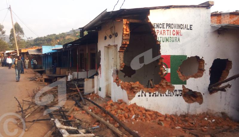 Burundi/Intolérance politique : le roussi