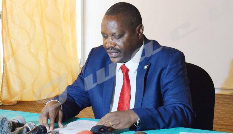 Ministre de l'Agriculture : «La récolte a été bonne, faut pas spéculer ! »