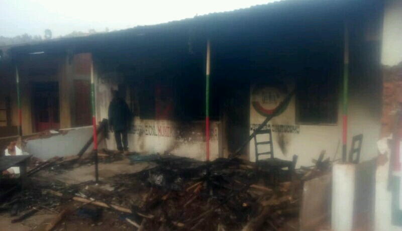 Bujumbura: La permanence provinciale du CNL incendiée