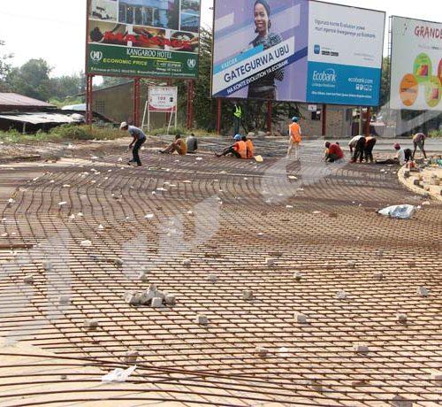 Mardi, 9 Juillet 2019- Les travaux de réhabilitation du rond-point des Nations Unies dans la zone de Ngagara sont presque à 60%  d'exécution selon un ingénieur du chantier./© Térence Mpozenzi/Iwacu