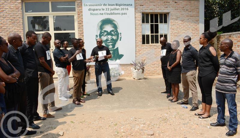 Jean Bigirimana : 3 ans après sa disparition, Iwacu lui rend hommage