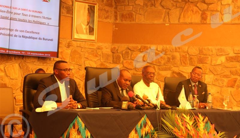Santé: la toute première Conférence Nationale sur la Santé au Burundi