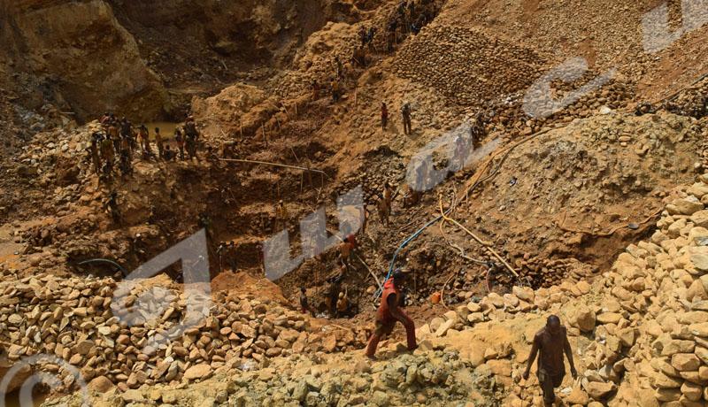 Mabayi : la production de l'or en baisse