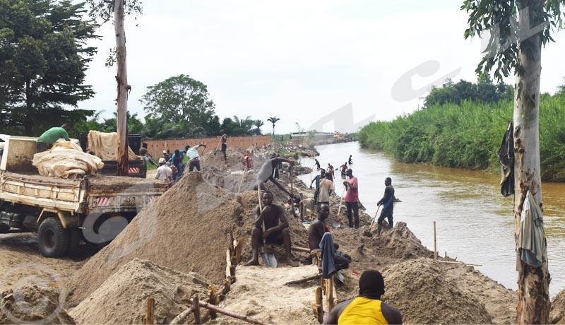 Interdiction d'extraction de matériaux de construction, Mutimbuzi exempté ?