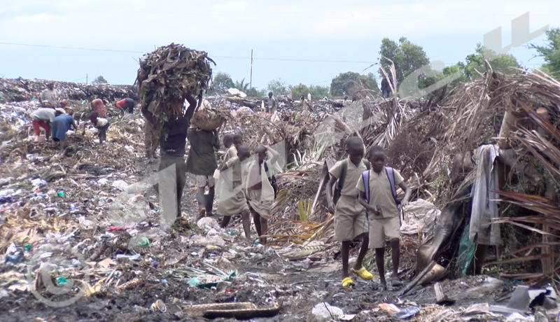 Dépotoir de Mubonedébordé: les habitants de la localité se disent inquiets