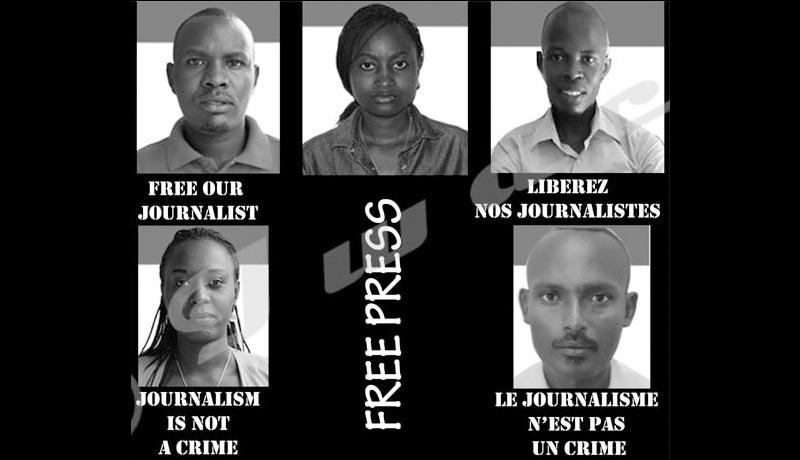 Immense mobilisation après l'incarcération des journalistes d'Iwacu et leur chauffeur