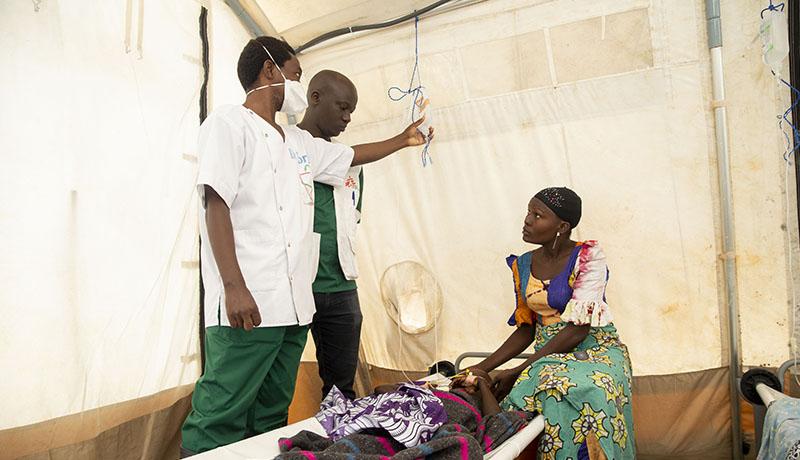 Epidemie de cholera : Médecins Sans Frontières soutient la riposte