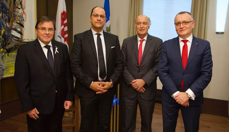 Slim Khalbous succède à Jean-Paul de Gaudemar à la tête de l'Agence universitaire de la Francophonie