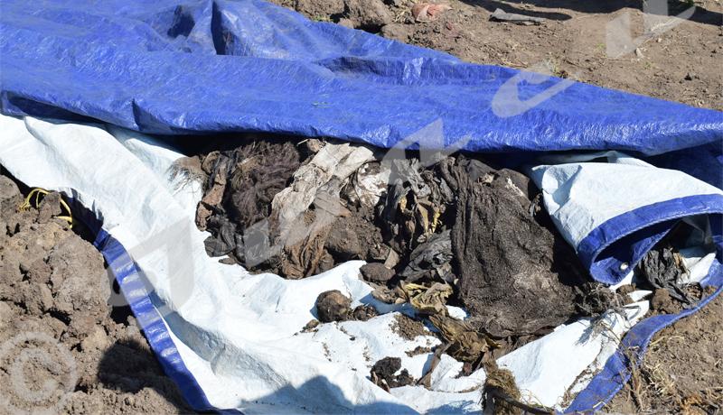 CVR : Exhumation des restes humains à Kamenge