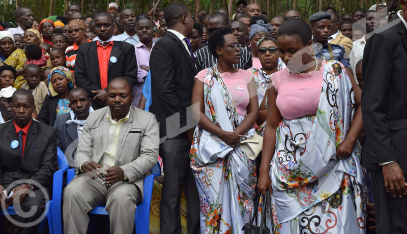 Funérailles de feu Désiré Ntahondabasigiye