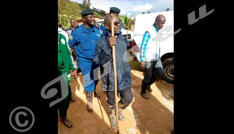 Cibitoke  endeuillé, le gouverneur appelle à la solidarité