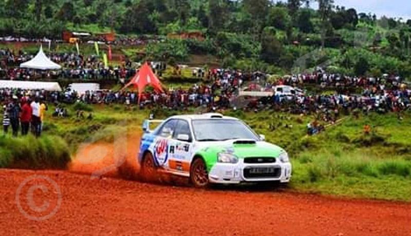 Rallye de Ngozi : Valery Bukera s'est adjugé la 1ère place