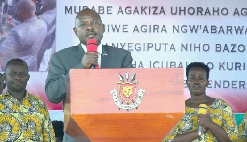 Président Nkurunziza : «l'Eternel a déjà opéré son choix sur notre candidat»