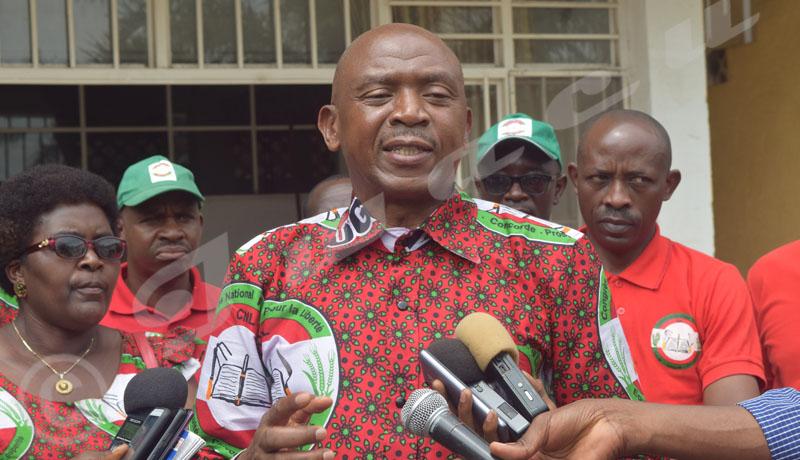 Elections 2020: «Le CNL n'a pas de milice», dixit Agathon Rwasa