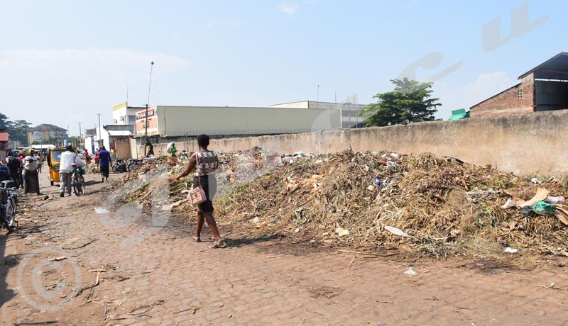 Bujumbura/Salubrité : des monticules d'immondices réapparaissent