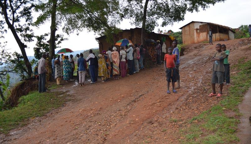 Bujumbura rural : Coups de feu à Kirombwe, 2 combattants tués et une dizaine d'autres capturés